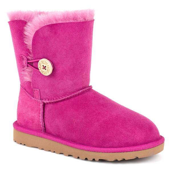 UGG® Children's Kids Bailey Button Twinface Apres Ski Boots