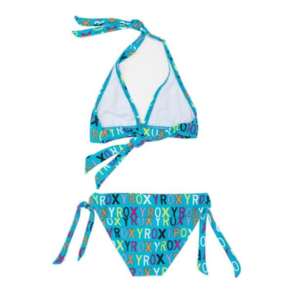 Roxy Girl's Caliente Sun Shore Halter Swim Set