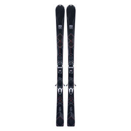 Volkl Women's Flair 76 All-Mountain Skis with vMotion1 Bindings '18