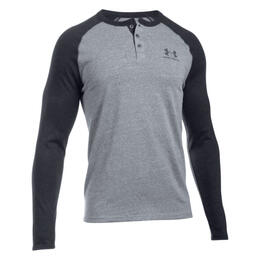 Under Armour Men's Triblend Longsleeve Henl