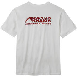 Mountain Khakis Men's Pocket Logo Short Sleeve T Shirt