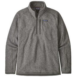 Patagonia Men's Better Sweater® Rib Knit Quarter-Zip Fleece