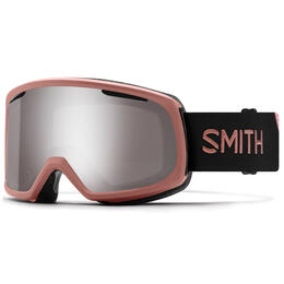 Smith Women's Riot Snow Goggles W/ Chromapop Platinum Mirror Lens