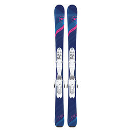 Rossignol Experience Pro All Mountain Skis with Jr7 Bindings '19 Pink
