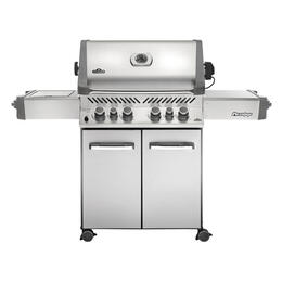 Napoleon Prestige 500 Gas Grill With Infrared Side And Back Burner