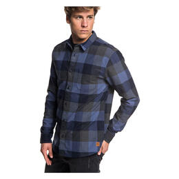 Quiksilver Men's Stretch Flannel Woven Longsleeve Top