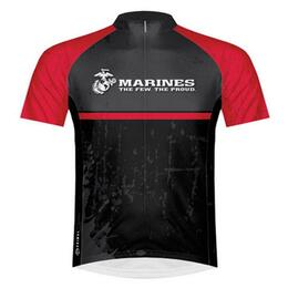 Primal Wear Men's Us Marines Battalion Cycling Jersey