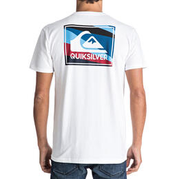 Quiksilver Men's Box Knife Short Sleeve T Shirt