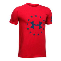 Under Armour Boy's Freedom Logo T Shirt