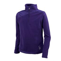 Spyder Girl's Speed Fleece T-neck