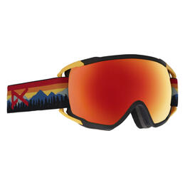 Anon Men's Circuit Snow Goggles with Sonar Red Lens