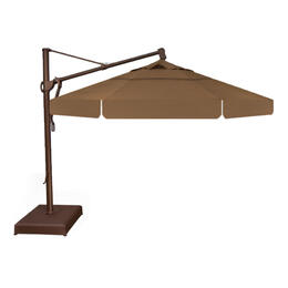 Treasure Garden 13' AKZ Cantilever Umbrella - Toffee