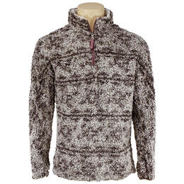 True Grit Men's Tribal Frosty Tip 1/4 Zip Pullover