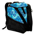 Transpack Women's XTW Ski Boot Bag Aqua Snowflake