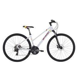 Haro Women's Bridgeport Step-Thru Commuter Hybrid Bike '16