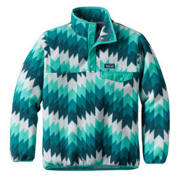 Patagonia Girl's Synchilla Snap-T Pullover - Strait Blue