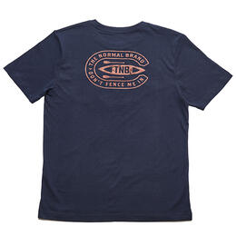 The Normal Brand Men's Canoe Navy T Shirt