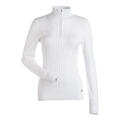 Nils Women's Diana 1/4 Zip T Neck Sweater