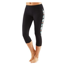 Manduka Women's Mesh Capri Leggings