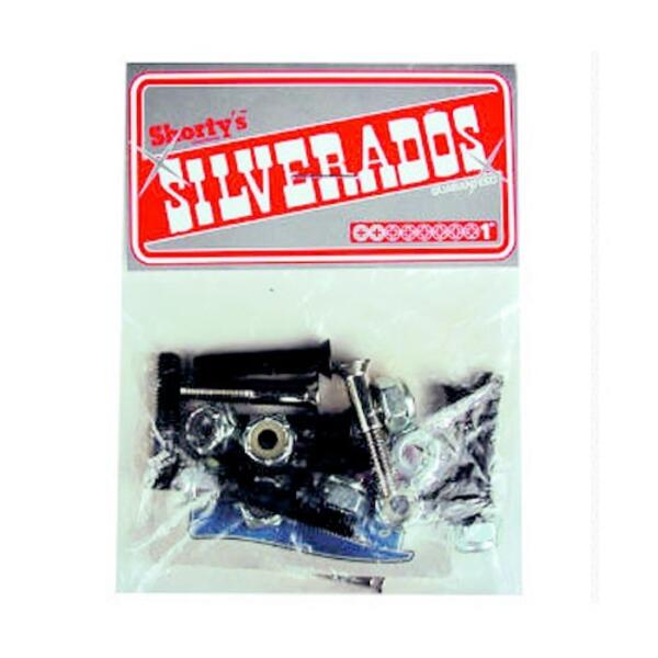 "Shorty`s Silverados 1"" Phillips Skateboard Hardware"