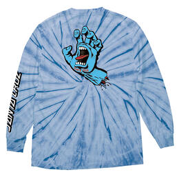 Santa Cruz Men's Screaming Hand Long Sleeve T Shirt