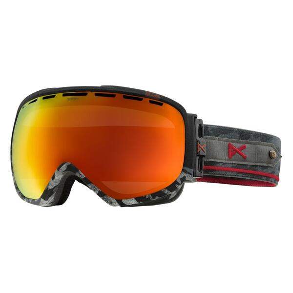 Anon Men's Insurgent Goggles with Red Solex Lens