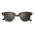 Ray-Ban Clubmaster Sunglasses With Green Cl