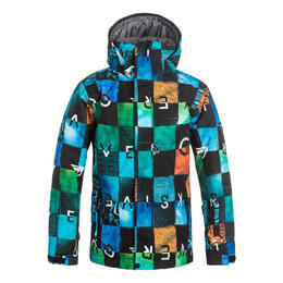 Quiksilver Boy's Mission Print Insulated Sk