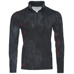 Bogner Fire + Ice Men's Oli Print T-Neck Baselayer