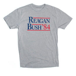 Rowdy Gentleman Men's Reagan Bush 84 Short Sleeve Tee Shirt