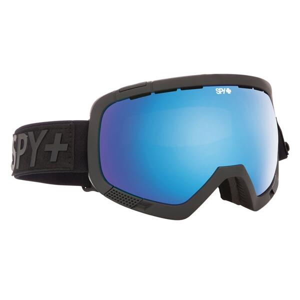 Spy Platoon Flight Strap Goggles with Bronze/Light Blue Spectra and Pers. Lenses