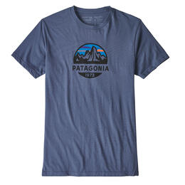 Patagonia Men's Fitz Roy Scope Organic Cotton Short Sleeve T Shirt