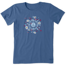 Life Is Good Women's Beauty In All Directions T-Shirt