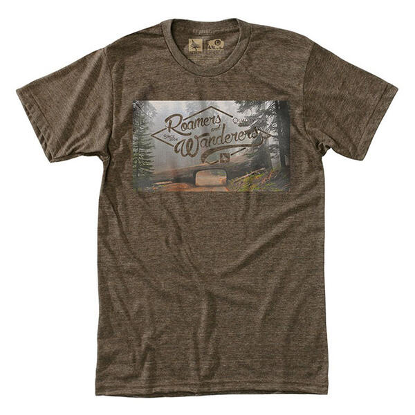 Hippy Tree Men's Tunnel Tee Shirt