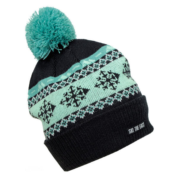 Ski The East Women's Gondola Pom Beanie