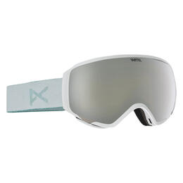 Anon Women's Wm1 Snow Goggles With Silver Solex Lens