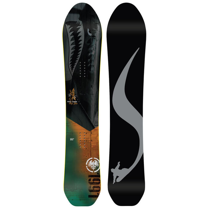 Never Summer Men's Big Gun Snowboard '20