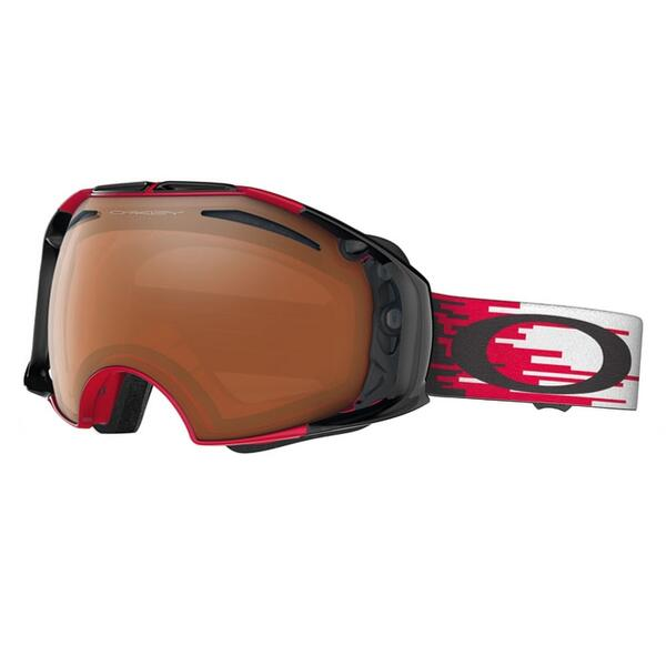 Oakley Airbrake Snow Goggles with Black Iridium/Persimmon Lens