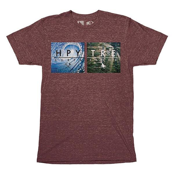 Hippy Tree Men's Platform Tee Shirt