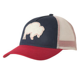 Mountain Khakis Men's Bison Patch Trucker Cap