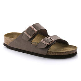 Birkenstock Men's Arizona Birkibuc Casual Sandals Mocha