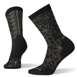 Smartwool Women's Poinsettia Graphic Crew Socks