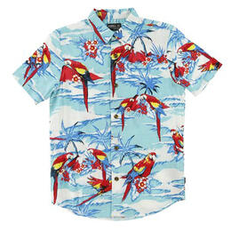 O'Neill Boy's Macaw Short Sleeve Shirt