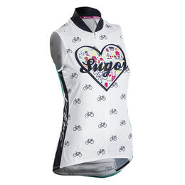 Sugoi Women's I Heart Bikes Sleeveless Cycling Jersey