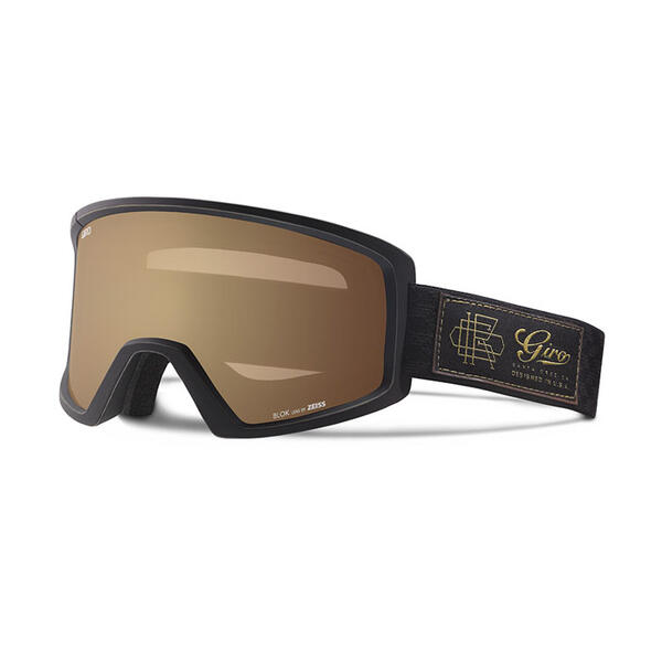 Giro Blok Snow Goggles With Amber Gold Lens
