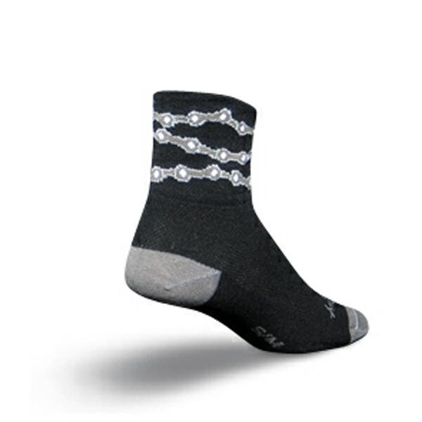 Sock Guy Chains Cycling Socks