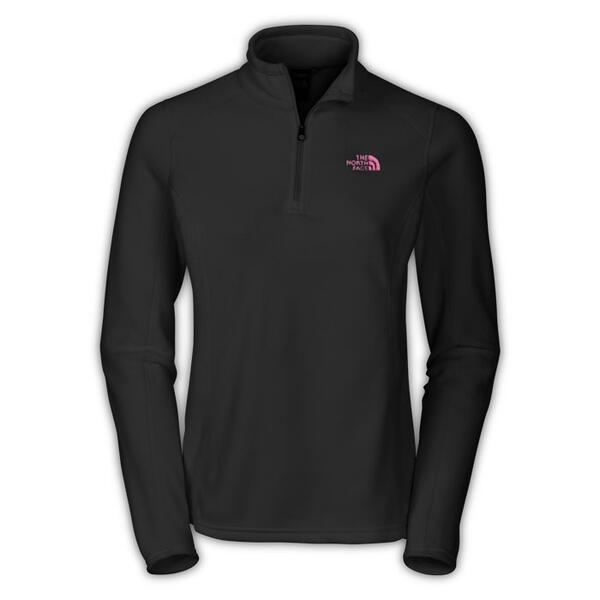 The North Face Women's Glacier Pink Ribbon 1/4 Zip Fleece Jacket