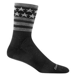 Darn Tough Vermont Men's Stars/stripes Crew Cycling Socks