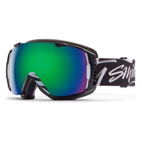Smith I/O Snow Goggles With Green Sol X/Red Sensor Lenses