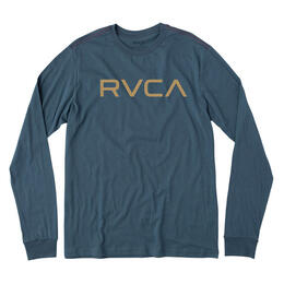 Rvca Men's Big Rvca Long Sleeve T-Shirt